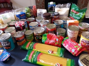Selection of Foodbank Collection